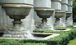 Fountains Royalty Free Stock Photos