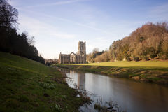 Fountains Abbey Royalty Free Stock Photography