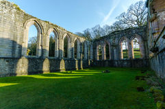 Fountains Abbey 5 Royalty Free Stock Image