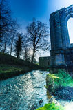 Fountains Abbey 7. Fountains Abbey in west yorkshire, uk Royalty Free Stock Image