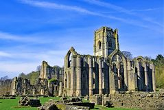 Free Fountains Abbey And Studley Royal Water Garden 2, North Yorkshire, In Late March 2019. Stock Photography - 143445302