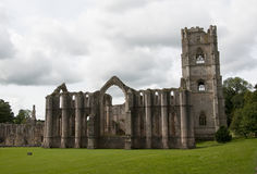 Fountains Abbey Ruins Royalty Free Stock Images