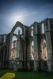 Fountains Abbey in yorkshire, England. UK Royalty Free Stock Photography