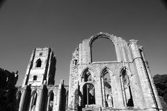Fountains abbey Royalty Free Stock Photos