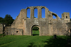Fountains abbey Royalty Free Stock Images
