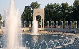 Free Fountains At World War II Memorial Stock Image - 881791