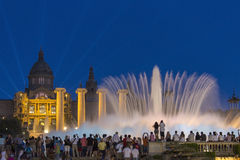 Fountains - Barcelona - Spain Royalty Free Stock Image