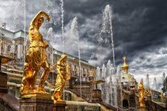 Fountains Stock Photo