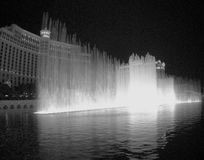 Fountains at Belagio stock images