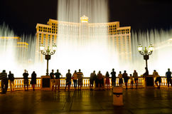 Fountains of Bellagio Stock Photo