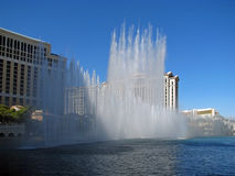 Fountains at Bellagio Hotel and Casino, Las Vegas, Nevada Stock Photography