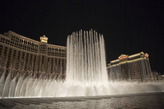 Fountains of Bellagio, Las Vegas Stock Photo