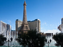 The Fountains of Bellagio in Las Vegas Stock Photos