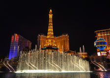 The Fountains of Bellagio Royalty Free Stock Image