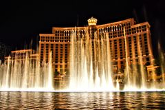 Fountains of Bellagio Royalty Free Stock Image