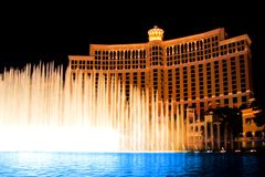 Fountains of Bellagio Royalty Free Stock Photography