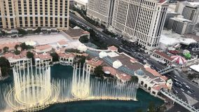 Fountains at the Bellagio to the tune of the Hallelujah Chorus