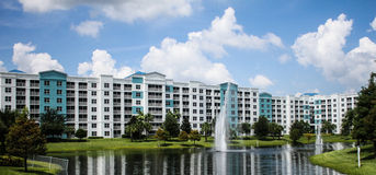 The Fountains, Blue Green Resort, Orlando, Florida Royalty Free Stock Image