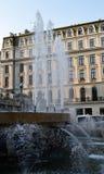 Fountains at Cercul Militar (Military Club), Bucharest, Romania Stock Photography