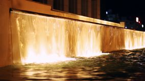 Fountains stock video footage