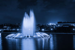 Fountains Royalty Free Stock Images