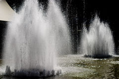 Fountains in kiev Stock Image