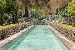 Fountains in the Maria Luisa park Royalty Free Stock Photos