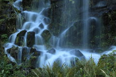 Fountains in the mountain park in Cassel Wilhelshoehe Stock Image
