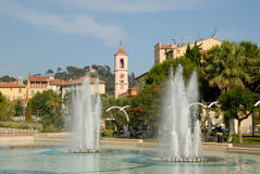 Fountains in Nice, France Stock Images