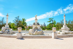 Fountains of the Palacio Real, Aranjuez Royalty Free Stock Photography