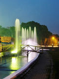 Fountains in Park Royalty Free Stock Photography