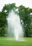 Fountains in park Stock Image