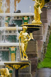 Fountains in Petehof Royalty Free Stock Photo