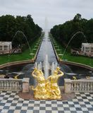 Fountains Petergofa Royalty Free Stock Photos