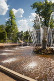 Fountains of Peterhof-1 Royalty Free Stock Image