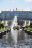 Fountains of Peterhof Palace Royalty Free Stock Photo
