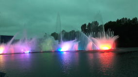Fountains Royalty Free Stock Photo