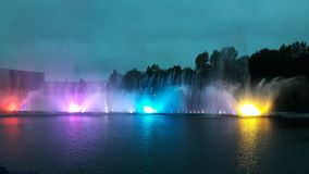 Fountains Royalty Free Stock Photography