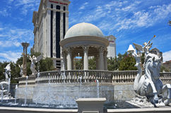 Fountains of Rome, Las Vegas style Royalty Free Stock Photo