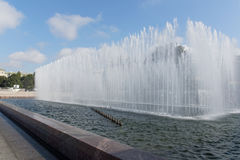Fountains in Saint-Petersburg Royalty Free Stock Photo
