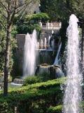 Fountains, Villa D'Este, Tivoli, Italy Stock Image