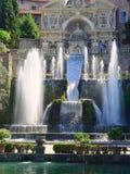 Fountains, Villa D'Este, Tivoli, Italy Royalty Free Stock Photos