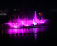 Fountains in Vinnitsa Stock Photography
