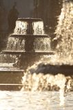 Fountains in Winter Stock Photography