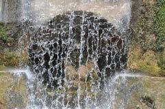 Fountian bij Villa D ` Este in Tivoli, Italië Stock Foto