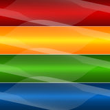 Four abstract background Stock Photography