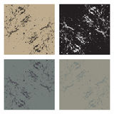 Four abstract backgrounds. A set or collection of four matching abstract backgrounds in different color tones Stock Images