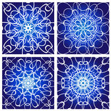 Four abstract backgrounds Royalty Free Stock Image