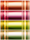 Four abstract backgrounds Stock Photography