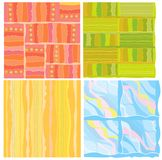Four of abstract backgrounds. Royalty Free Stock Photo